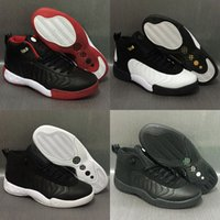 Wholesale Name Brand Shoes For Men - 2018 new Arrivel brand name XII J12.5 for Men's fashion sport Sneaker 12.5 Retro Basketball Shoes
