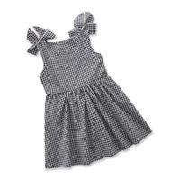 Wholesale fashion boutique color line - 2018 Children's Dresses for Girls Clothing Plaid Princess Dress Fashion Girl's Kids Dresses Summer Sleeveless Cotton Dress Boutique Clothes