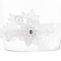2e493c66c7 1 piezas de flores de encaje para mujer boda ligas de flores Ligas de  pierna sexy ceremonia de matrimonio romántica anillo de muslo nupcial moda