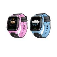 baby watch gps оптовых-Дети Smart Watch DS39 GPS дети Smart Watch с камерой Baby SOS вызова расположение устройства трекер для Kid Safe