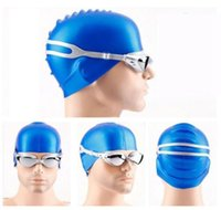 Wholesale Swims Coat - Swimming Goggles Anti-Fog UV Protection Men Women Eyewear Adult Coated Lens Swimming Glasses Professional Pool Eyewear DDA127