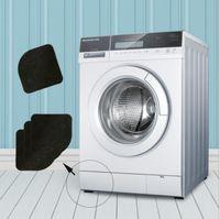 Wholesale Anti Noise - 4pcs 1set Washing machine shock pads Non-slip mats Anti-vibration Non-slip Mats Anti Noise Bathroom mat KKA3859