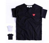 camiseta roja de la capilla al por mayor-Justin Bieber LOGOTIPO Superman  Red Heart Men 067332ccff2