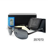 защищать диск оптовых-Классический Новый Поляризованных Солнцезащитных Очков Для Мужчин Женщин Люксовый Бренд Дизайнер Покрытие Зеркало Очки Водитель Вождения Uv400 Защищенные Очки 8455