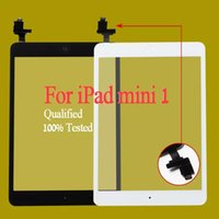 Wholesale ipad2 touch screen - Free shipping by dhl or ems 100% Completed For iPad mini 1 mini 2 Touch Digitizer Screen With IC & Home Button Flex Cable