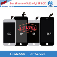 Wholesale Display Iphone 5c - Wholesales Grade A+++ LCD Display For iPhone 5 5S 5C SE Or 6 6s 6 Plus 6S Plus Touch Screen Digitizer With free tools +Free DHL Shipping