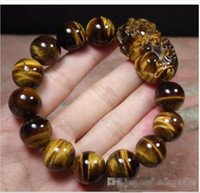 EXQUISITE CHINESE Black JADE Bead Dragon Pi Xiu Coin Bangle Feng Shui Bracelet
