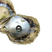 akoya perla 12mm al por mayor-30 UNIDS 8-12mm Solo Redondo Akoya Tahiti Perla En Agua salada Oyster Sea Pearl Para DIY Regalo de Moda Perla Partido Envío Gratis