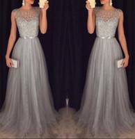 xl rahat kıyafetler toptan satış-Moda Casual Kadınlar Bayanlar Kolsuz Elbise Örgün Düğün Uzun Akşam Parti Balo Balo Elbise Beyaz Tatlı