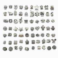 europa-perlen-art und weisearmband großhandel-Europa Und Amerika Perlen Für Schmuck Machen DIY Kreative Mode Armband Zubehör 5mm Loch Heißer Verkauf 3 5nw WW