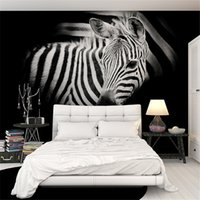 Wholesale Oil Painting Asia - Custom horse wallpaper 3D, oil painting horse for the living room bedroom TV background wall waterproof silk cloth wallpaper