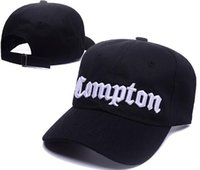 Wholesale top hat black for sale - Top Hot Christmas Sale NWA Letter Compton VINTAGE SNAPBACK Adjustable caps hats Baseball cap hip hop cap hat Casual Lifestyle Hats Hat