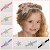 Wholesale little girls wholesale accessories - Cute Little Girls Hair Accessories Kids Hairband Baby Headband Party Hair Band Wedding Headdress Princess Headwear 1pc