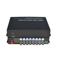 ingrosso sistemi di sorveglianza 16-16 CH Convertitori di supporti ottici in fibra ottica video -16 Ricevitore trasmettitore BNC Modalità singola 20Km Per sistema di sorveglianza CCTV