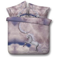 Wholesale romantic bedding duvet sets for sale - Group buy 3D galaxy unicron Bedding Sets Duvet Cover animal bedspreads Bed Linen kids twin for girls Quilt Covers moon romantic Pillow Shams