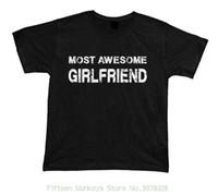 sevgililer için en iyi yılbaşı hediye toptan satış-Baskılı T Gömlek Yaz erkek En Başar Kız Arkadaşı No1 En Iyi T Shirt Hediye Fikir Birhday Mevcut Tee Noel