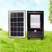 Wholesale road covers - Super Bright 10 LED 5W Waterproof IP65 Solar Lamp Outdoor Street Security Road Light Wall Garden Solar Lamp Light Curved transparent cover