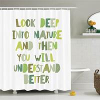 rideaux lettres achat en gros de-Ensemble de rideaux de douche