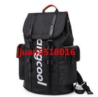 mochila de lujo para hombres al por mayor-envío libre de la calidad 2018 mujeres de la marca de lujo bolso de los hombres de la mochila Mochilas famosas de los diseñadores de la mochila de los hombres del bolso de las mujeres de la mochila de viaje