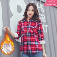 a966c5425d73 Wholesale Plus Size women's plus size plaid shirts - Buy Cheap ...