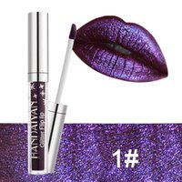 Wholesale sell lipstick resale online - The new color HANDAIYAN diamond bead light lip gloss non stick cup mermaid her lipstick lip gloss cross border sell like hot cakes