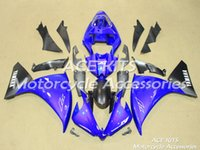 Wholesale ACE Motorcycle Fairings For YAMAHA YZF R1 Compression or Injection Bodywork astonishing blue No