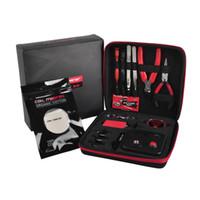 Wholesale Master Diy - Newest Coil Master V3 Kit DIY Tool Bag Coil Winder Coil Master Tool Kit 2.0 For RDA RBA Atomizer ecigs