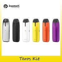 Wholesale wholesale joyetech batteries - 100% Original Joyetech Teros Starter Kit With 480mAh Battery All-in-One Vape Pen For Authentic 2.0ML Pod Cartridge Atomizer 2220088