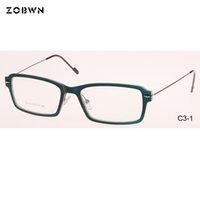bc85234cd374b Super leve homens mulheres óculos para óculos de olho de prescrição do  vintage claro lente óptica Óculos de óculos vermelho preto oculos