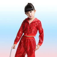 Wholesale latin dance costumes for sale - 2018 new Children s Sequins Practice Performance Latin Jazz Dance Ballroom Dance Leotards Girls boys Latin Dancing Costumes hot