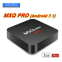 Wholesale MXQ Pro K Android TV Box Amlogic S905W RK3229 Quad Core bit Smart Mini PC G G Support Wifi K H Streaming Google Media Player