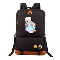 ed7551a0e4e4 2018 High Q Japanese style Anime cells at work Backpack unisex Students  BACKPACK computer BAG