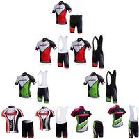 Wholesale cycling jerseys men china resale online - Hot Sale MERIDA Cycling Jersey Bicycle Clothing Sportwear Shirts maillot Ropa ciclismo Bike Short Sleeve China Bib Set F52106