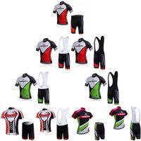 maillot ciclismo merida großhandel-Schlussverkauf! MERIDA Radtrikot Fahrradbekleidung Sportwear Shirts maillot Ropa ciclismo Fahrrad Kurzarm China Bib Set F52106