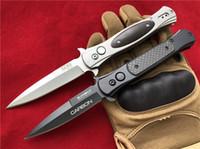 Wholesale sog knives for sale - Sog FIELDER G707 Folding blade knife Cr14Mov Steel Stonewash Dagger Cocobolo Handle EDC camping Folder pocket knife knives carbon fiber