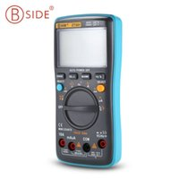 Wholesale Portable Multimeter - BSIDE Portable Handheld Ture RMS Digital Multimeter 8000 Counts LED Backlight Large LCD Display Electrical Test Meter