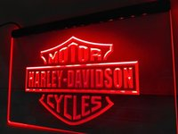 Wholesale Red Led Signs - LR007b- motorcycle LED Neon Light Sign