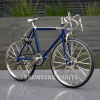 Wholesale diecast bicycles - DIECAST MODEL COLLECTIONS 1:10 RACING BIKE BICYCLE REPLICA TOY