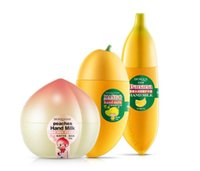 lotionmilch großhandel-BIOAQUA Women Skin Defender Bananenmilch Handcreme Feuchtigkeitsspendend Nähren Anti-Chapping Handpflege 40g Lotionen Handcreme