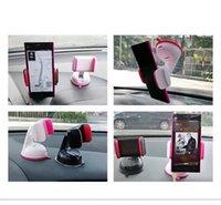 langarm-auto telefonhalter großhandel-Universal 360 Rotation Auto Halterung Handyhalter Waschbar Stilvolle lange Arm Windschutzscheibe Armaturenbrett Halterung für iPhone X 8 Galaxy S8 S8 +