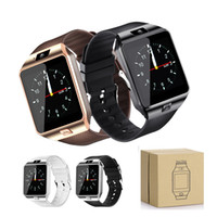 Wholesale healthy message - DZ09 Smart Watch with Camera Healthy Tracker Intelligent Watch Support TF Sim Card Bluetooth Wristwatch for Smart Phone with Retail Box