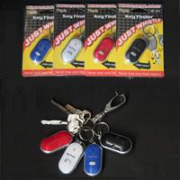 key finder locator großhandel-Outdoors Key Finder Anti Verloren Keychain Switch Stil Keies Sucher Whistle Suche Buckle Control Locator Mit Mix Farbe 2 55cf jj