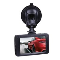 Wholesale auto car data online - 3 quot car DVR digital video camera auto driving data recorder full HD P loop recording G sensor parking monitor motion detection