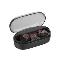 caisse de batterie intelligente achat en gros de-TWS J29 V5.0 Bluetooth Écouteur Intelligent Sans Fil Jumeaux Écouteurs avec Affichage de la Batterie Cas de Charge Mains Libres pour iPhone Xiaomi