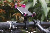 phone holder bicycle toptan satış-Bisiklet Gidon Klip Montaj Dirseği 360 derece rotasyon Cep Telefonu bisiklet Tutucu Samsung LLFA Için iPhone 6 6 artı 7 8 Için Standı
