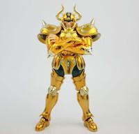 Wholesale myth ex - in stock METAL CLUB S-Temple Anime OCE Aldebaran Taurus Cloth Myth EX Gold Saint Seiya action figure toy Metal armor
