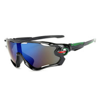 ingrosso occhiali da sole multi lenti-New Fashion Cycling Glasses Occhiali da sole sportivi Ciclismo Occhiali da sole Outdoor Uomo Donna Bicicletta Occhiali da sole UV400 Bike Eyewear 3 lenti