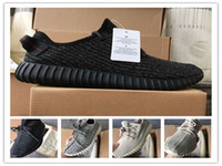 Wholesale womens shoes oxfords - 2017 Kange West Boost 350 V1 Turtle Dove Moonrock Oxford Tan Pirate Black Mens Womens Running Shoes