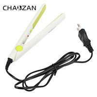 Wholesale mini flat irons hair - Chinabrands owned CHAOZAN Fashionable Mini Candy Color Portable Enameled Perm Splint Hair Straightener Enameled Perm Splint Hair Flat Iron