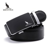 Wholesale Real Trim - Mens Belts for Male Waistband Removable Trimmer Buckles Men Real Leather belt Brand Casual Design Buckle high quality ratchet
